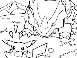 Pokemon Pikachu Coloring Pages Online