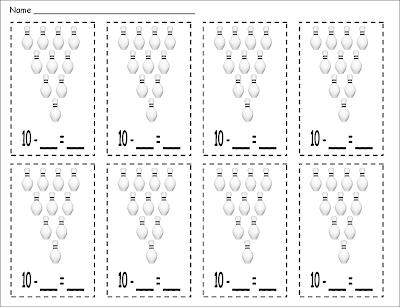 math worksheet : inspired by kindergarten subtraction game freebie : Subtraction Games Worksheets