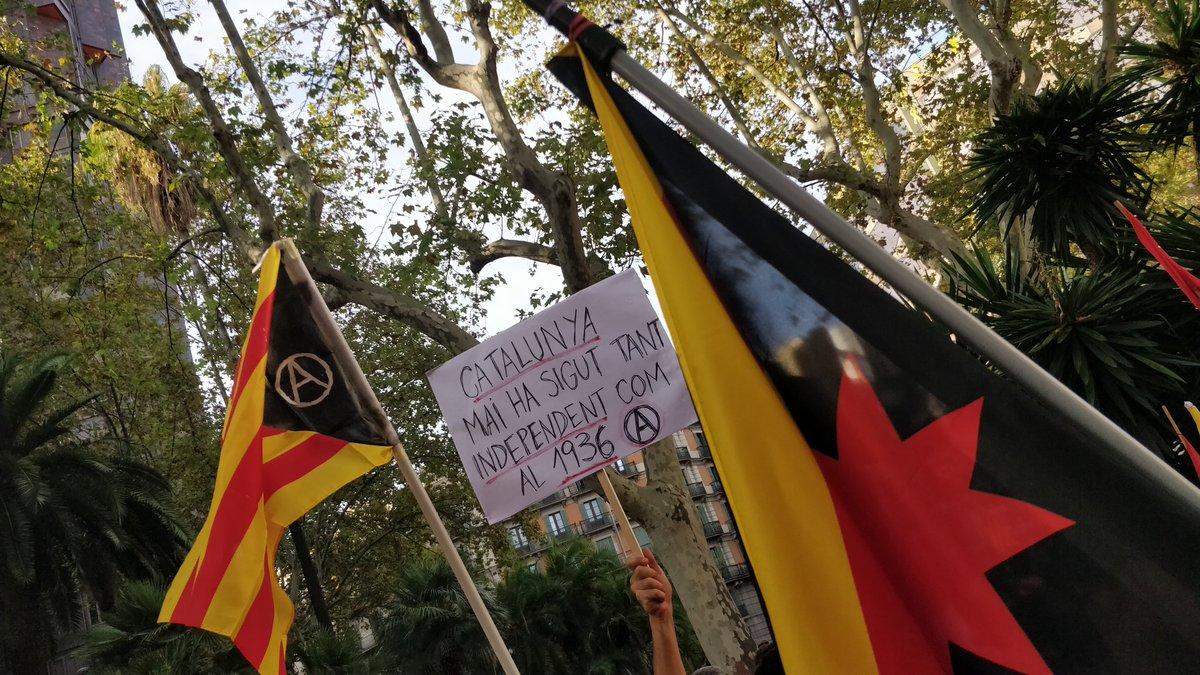 Catalunya i les anarquistes