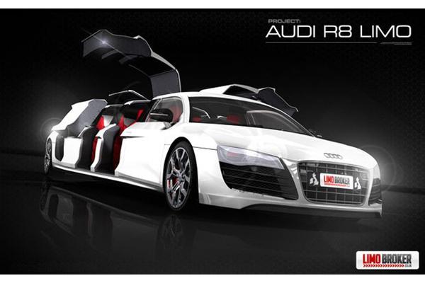 Audi R Limousine Auto Comparison Photos - Audi car 8 seater