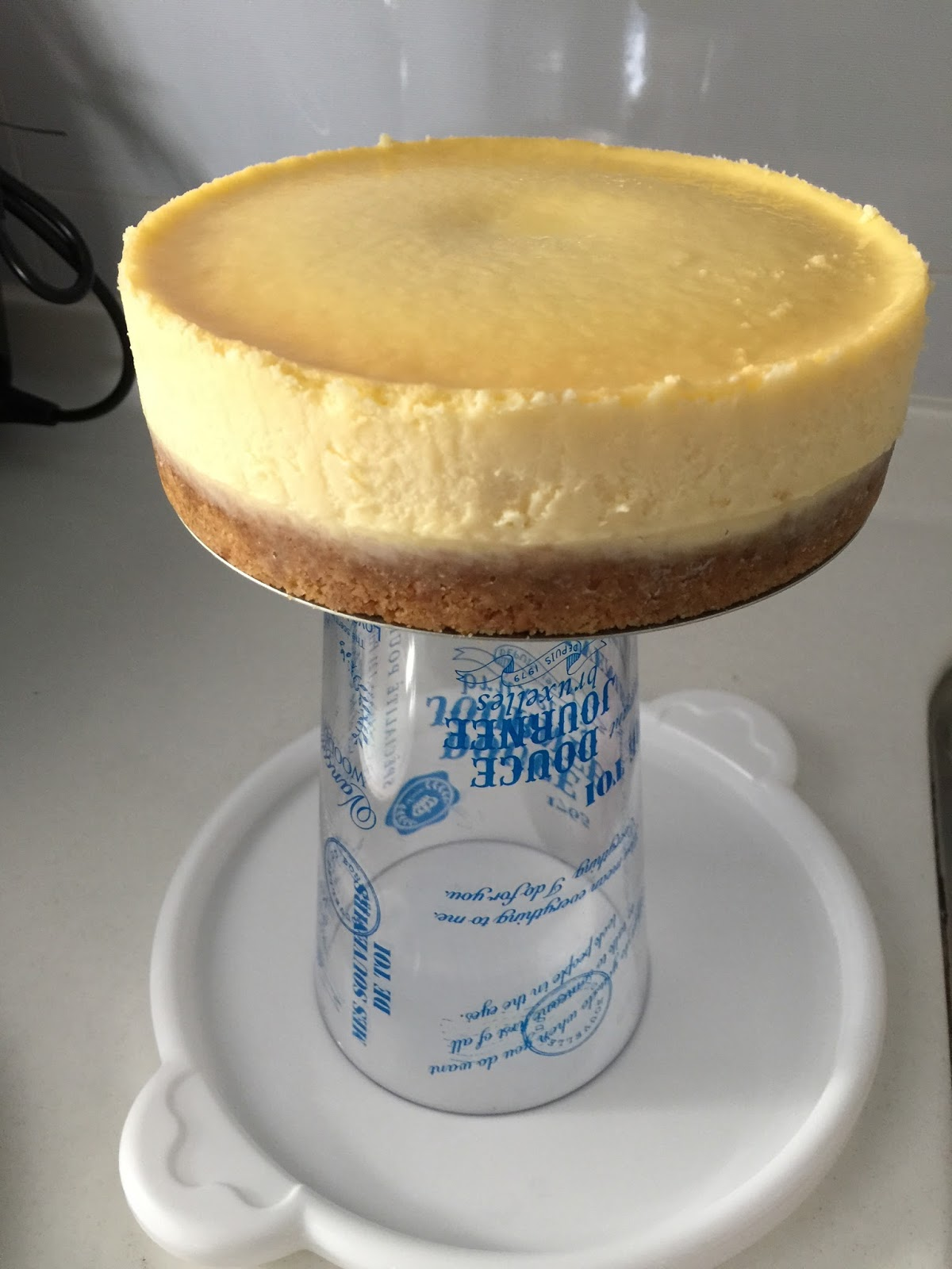 Baking Mom: Light New York Cheesecake