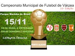 Campeonato Municipal de Futebol de Várzea de Porto Alegre