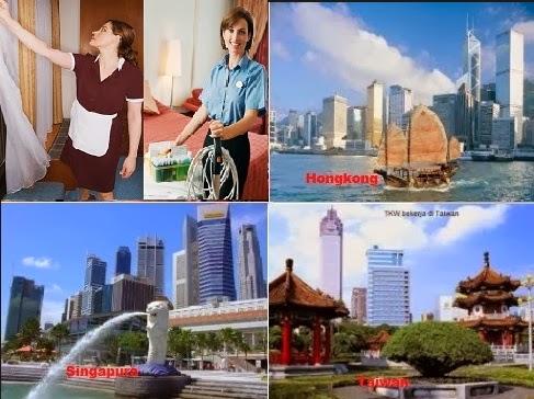 Lowongan kerja di Taiwan Hongkong Singapura  - Pendaftaran Kerja Ke luar Negeri Ali Syarief 0877-8195-8889 - 081320432002