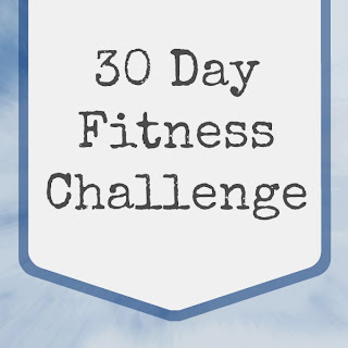 30 Day Fitness Challenge (Abs, Arms & Squats)