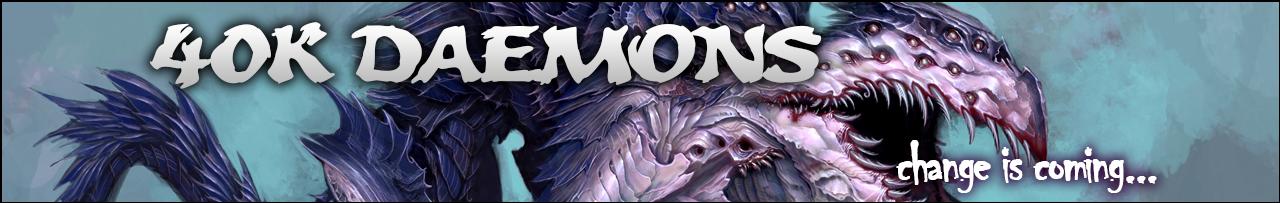 40k Daemons