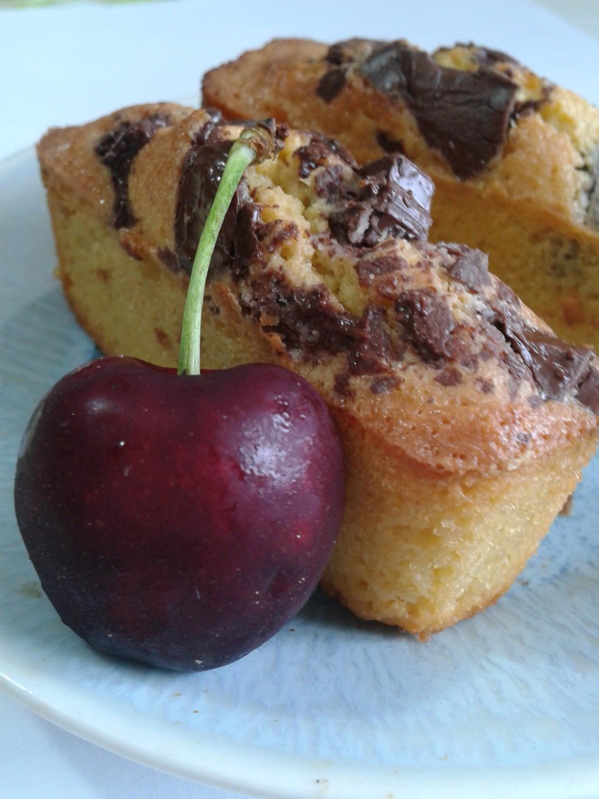 Namandier individuel aux p pites de chocolat cuisine de karo for Cuisine karo