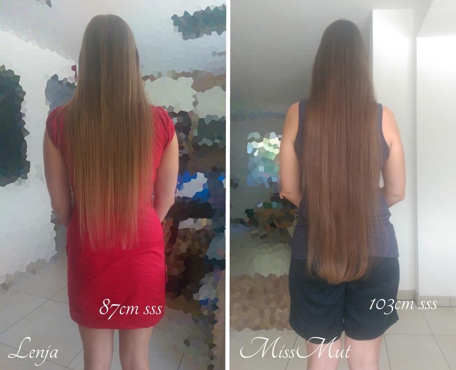Sehr lange haare selber schneiden