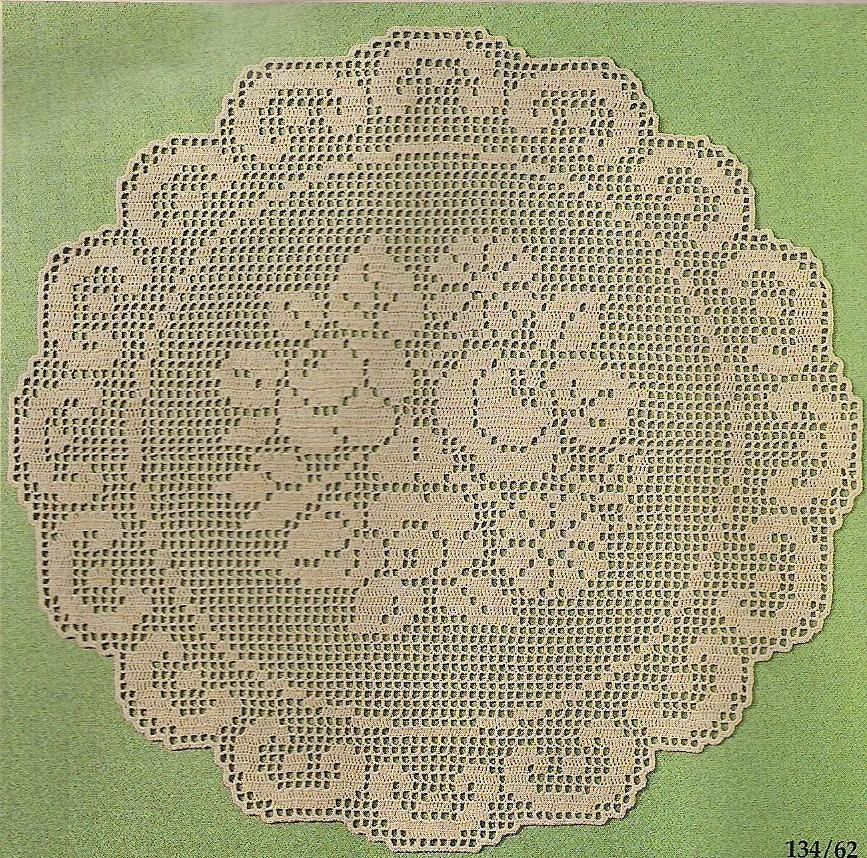 Carpetas tejidas a ganchillo