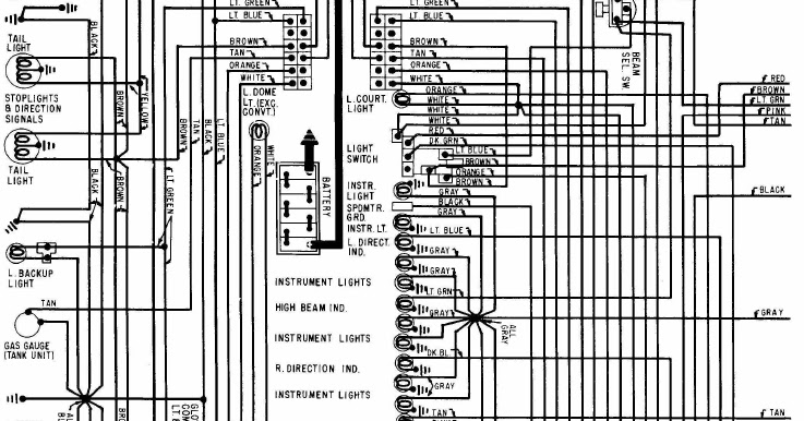 1968 Chevrolet Corvette Power Seat    Wiring       Diagram      All