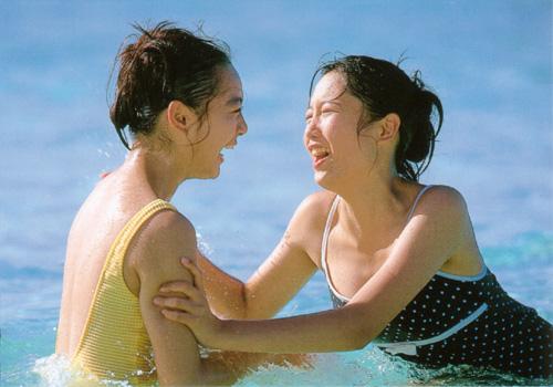yoko mitsuya and nara saori sexy bikini photos 03