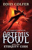 bookcover of ETERNITY CODE  (Artemis Fowl #3) by Eoin Colfer