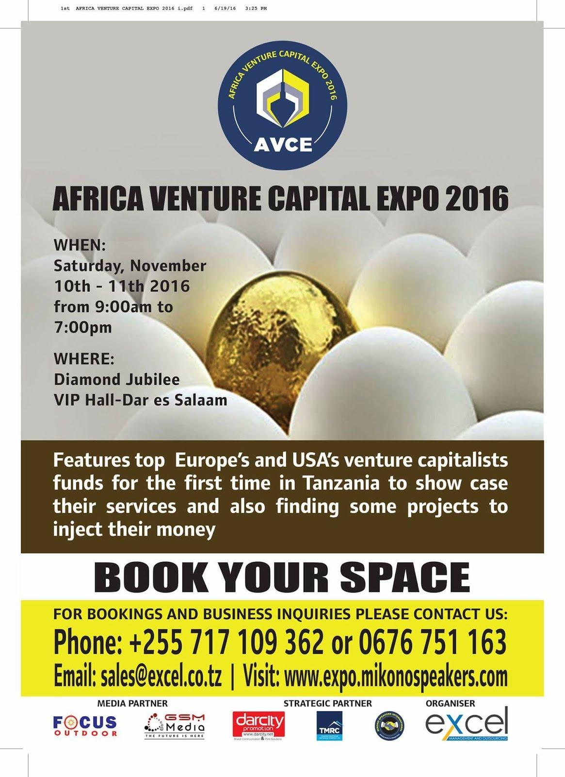 VENTURE CAPITAL EXPO 2016