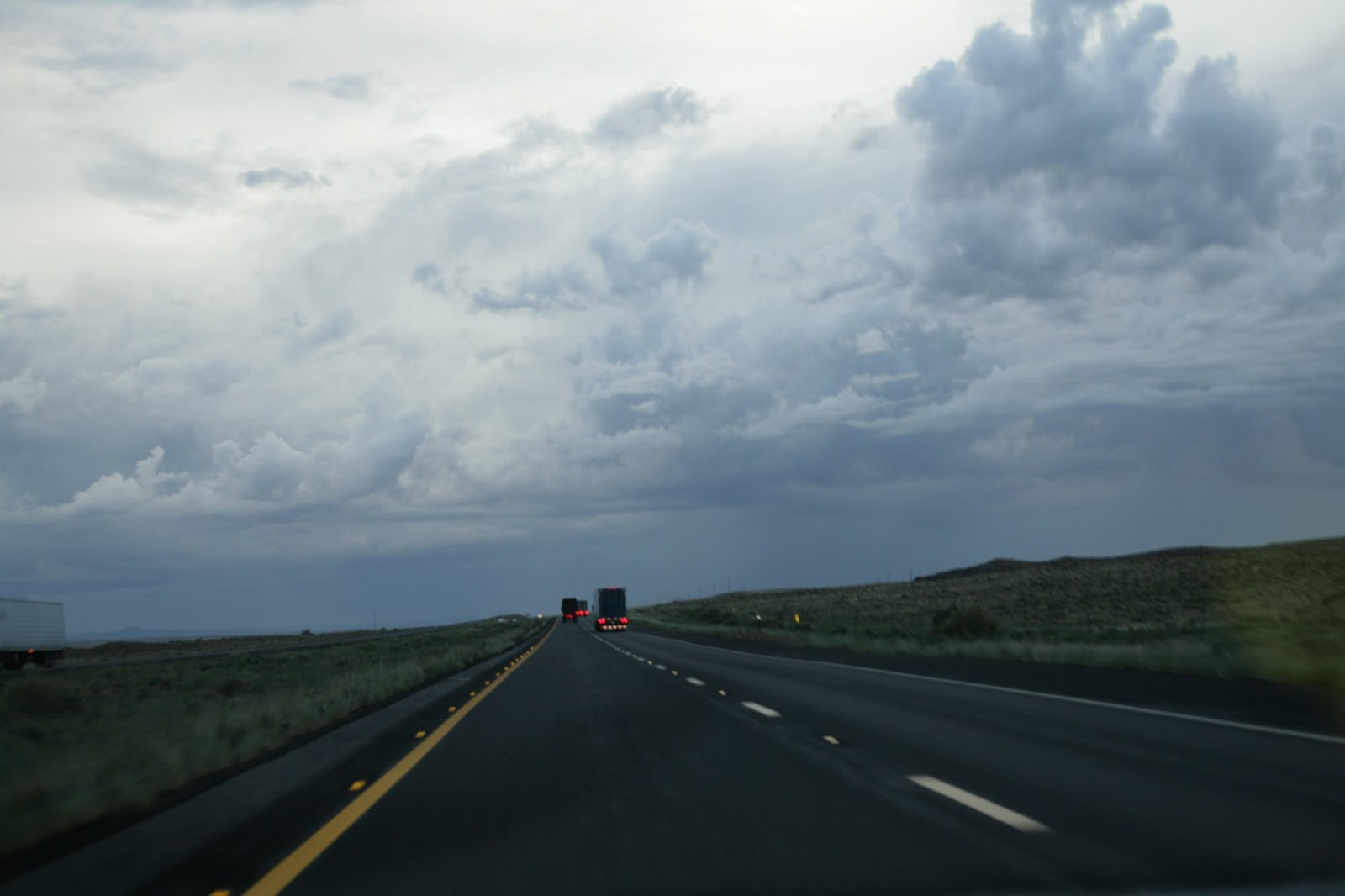 Interstate 40 northern Arizona