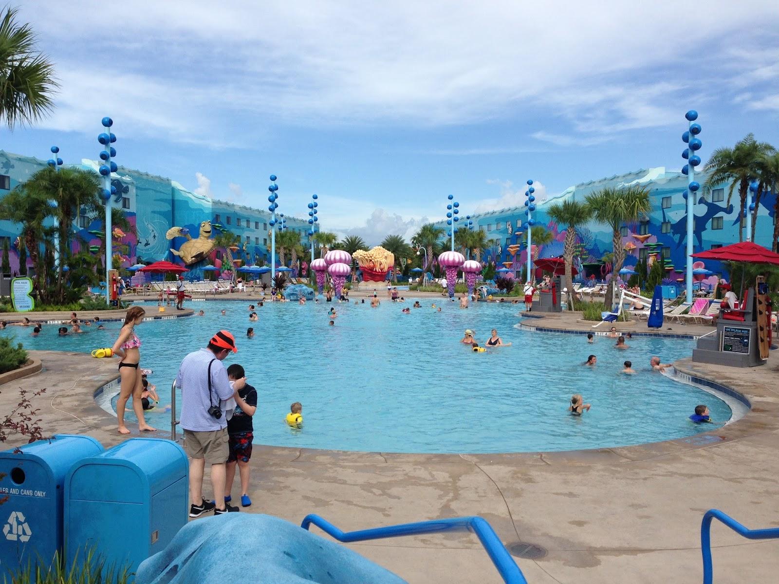 Digital disney world ddw pic 710 the big blue pool for Blue world pools