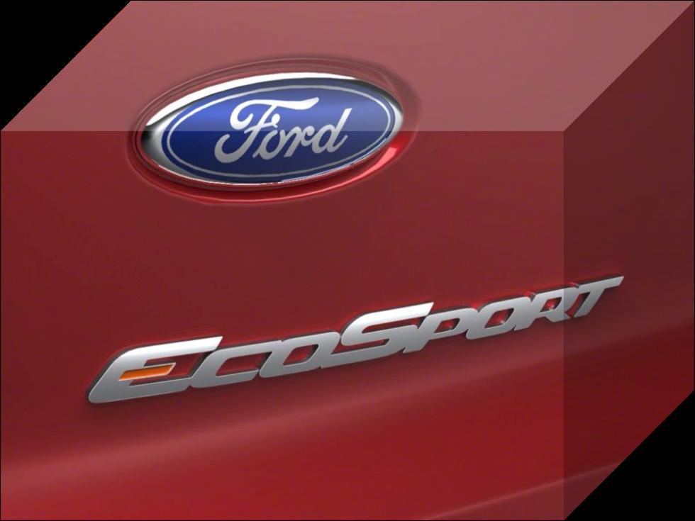 Logo SUV All New Ford EcoSport