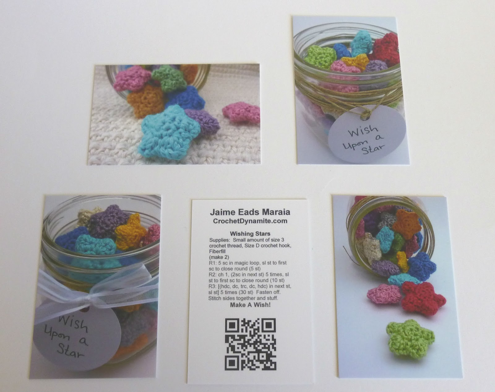 crochet dynamite a giveaway and my new cards
