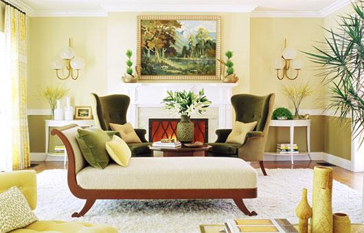 Hogares frescos dise o interior art stico de casa con una vivida combinaci n de colores for Diseno de interiores apartamentos