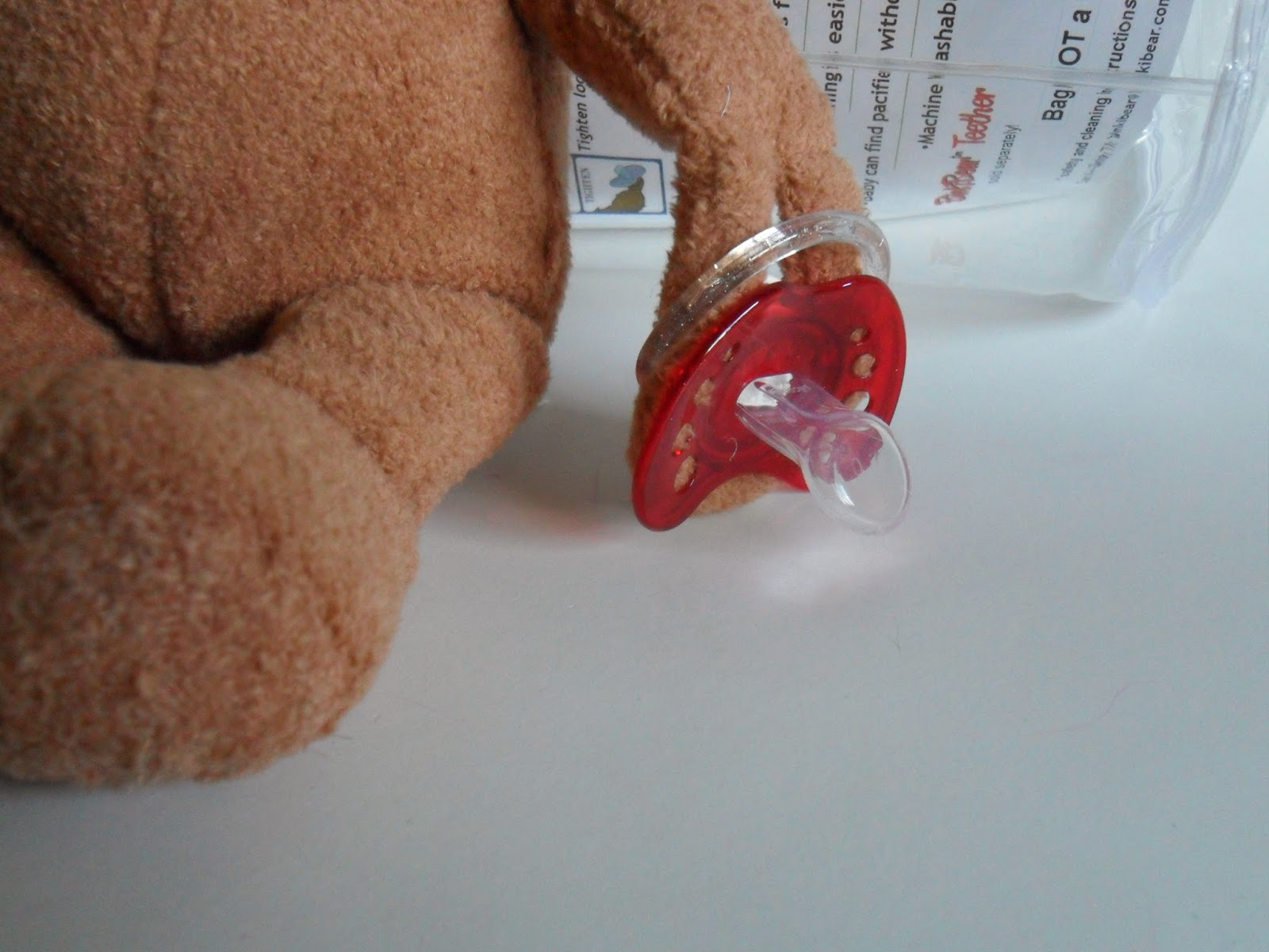 Pacifier makeover. Binki Bear. Review  (Blu me away or Pink of me Event)