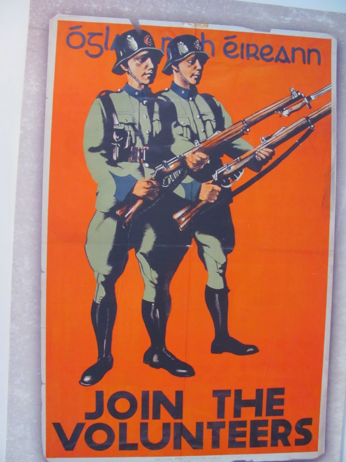 Irish Volunteers Recruiting Poster