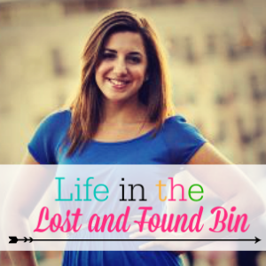 Life in the Lost and Found Bin Button