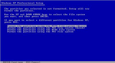 Cara Instal Windows XP Lengkap Dengan Gambar