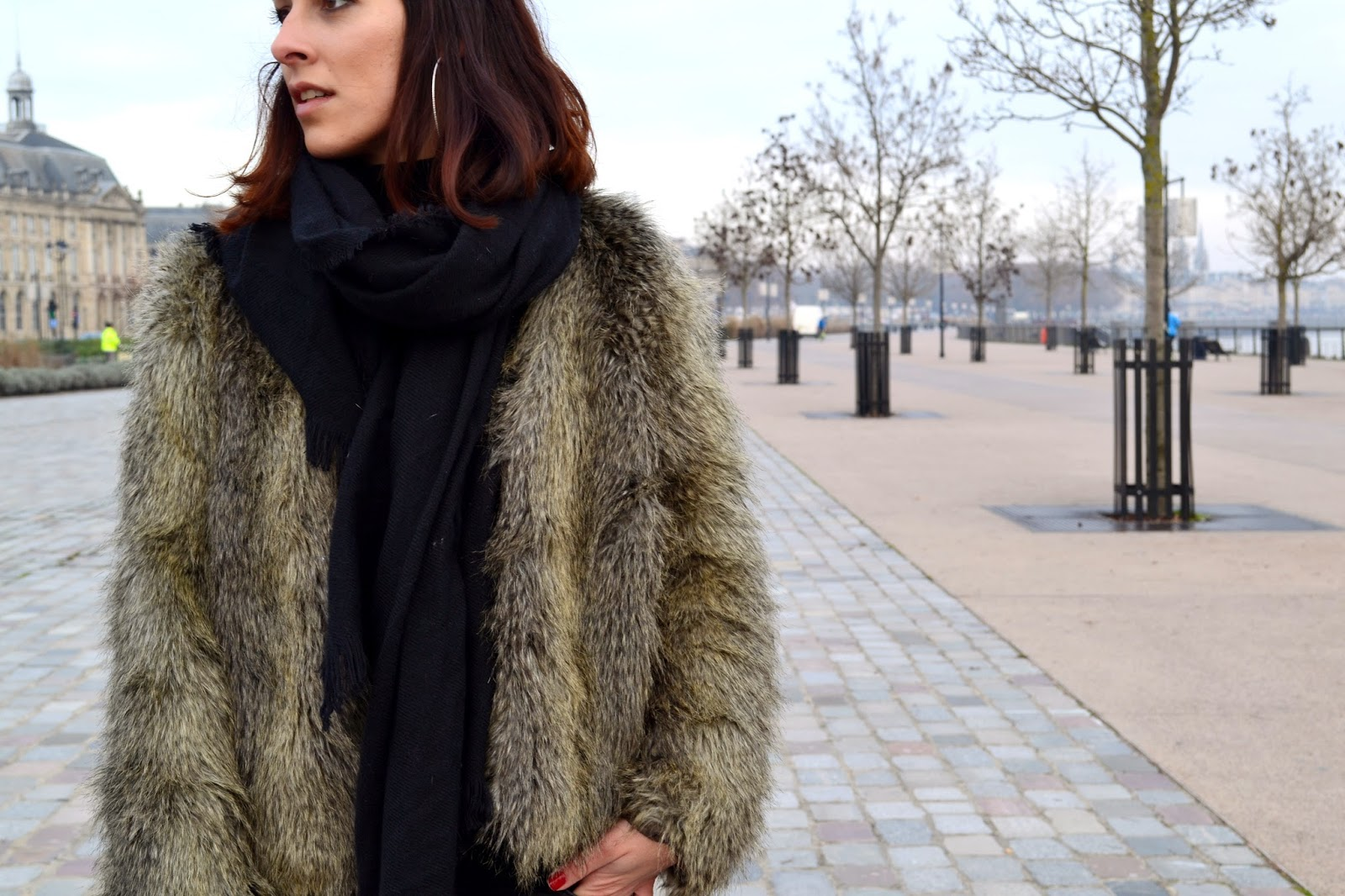 "L'article avec du ""fake fur""..."
