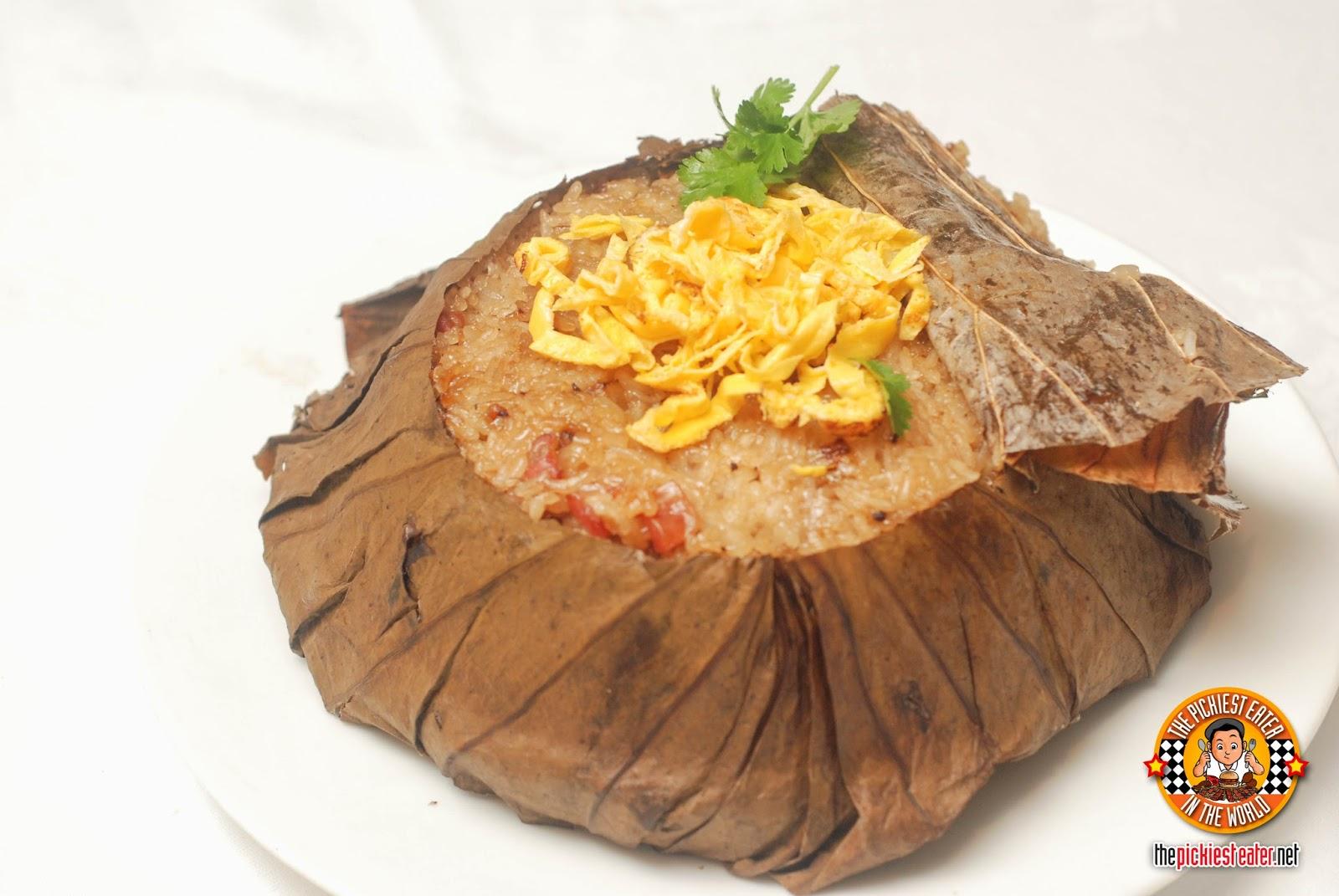 Yee Sang Shang Palace Makati Shang glutinous rice