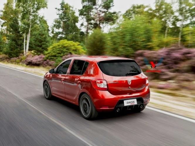 2015 Dacia Sandero Sport Renderings