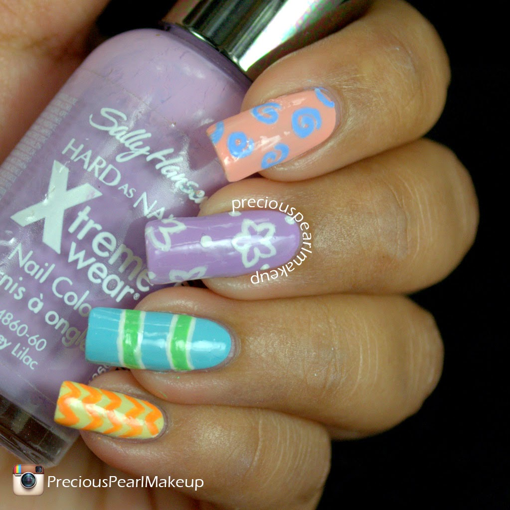 preciouspearlmakeup: Easter Nail Art and Tutorial