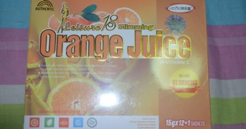 Leisure 18 Slimming Orange Juice and Coffee (100% Orignal ...