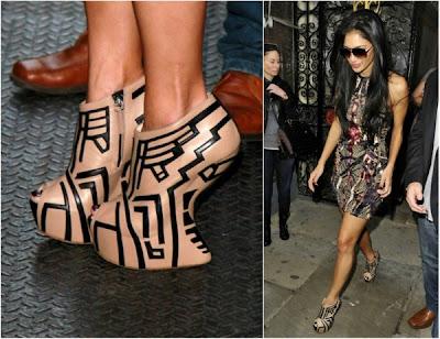 Nicole Scherzinger heel-less shoes