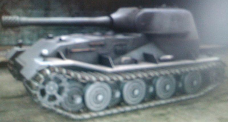 VK7201 Lowe -тяжелый танк 10 уровня.  Это вариант танка Lowe с задним расположением боевого отделения.