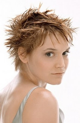 Short spikey hairstyles