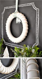 Coronas de Halloween Reicicladas