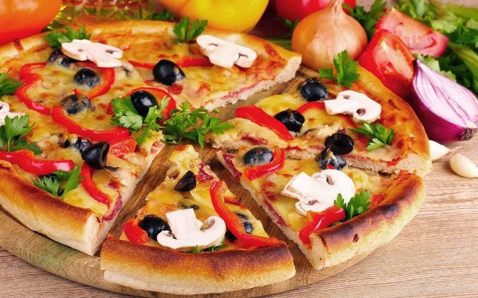 Recipe Of Farmhouse Pizza