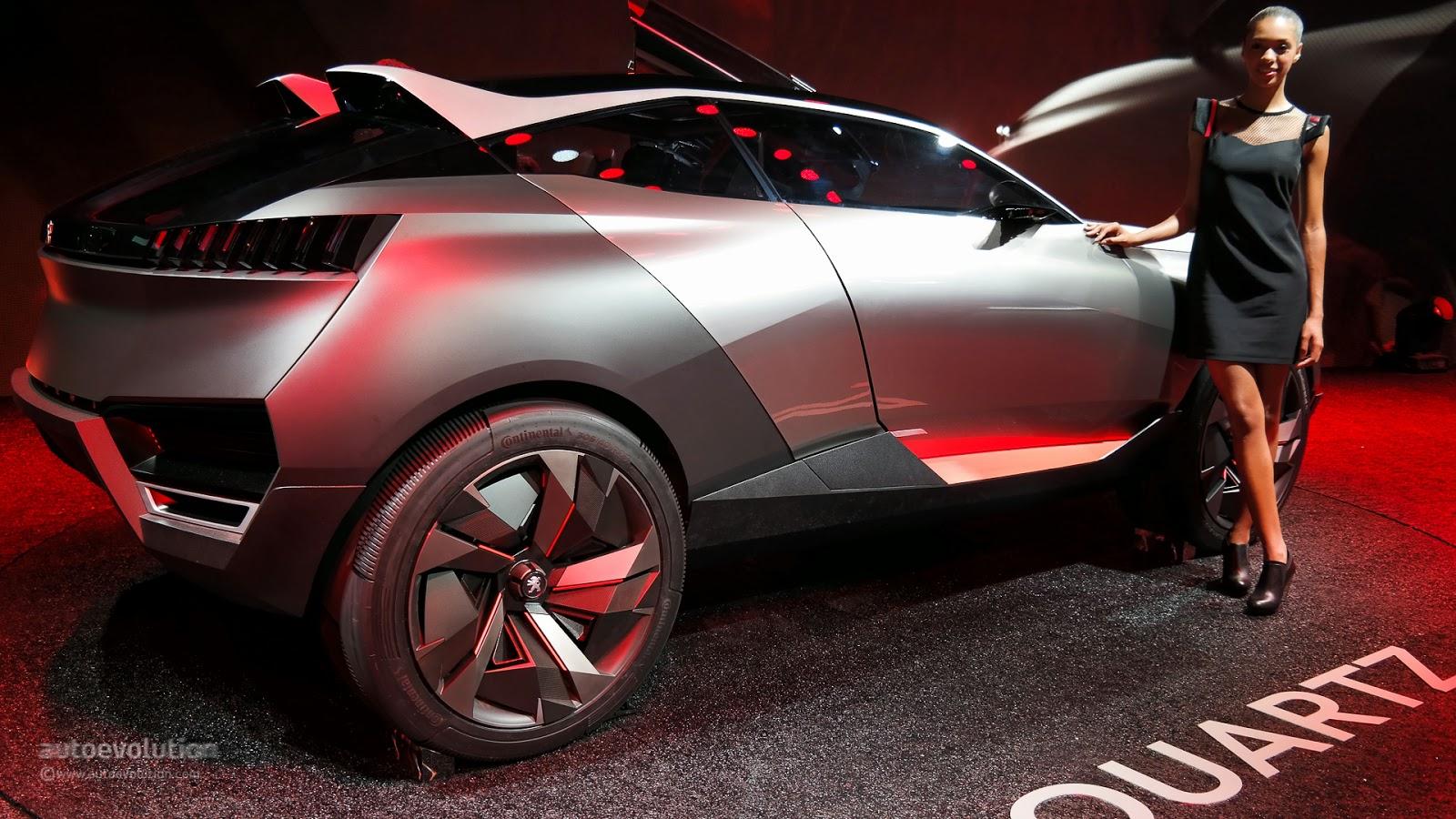 Demo BKB: Peugeot SUV Quartz concept car