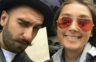 Ranveer Singh & Deepika Padukone were spotted vacationing in London