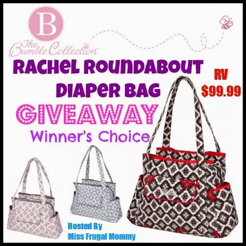 Rachel Roundabout Diaper Bag Giveaway