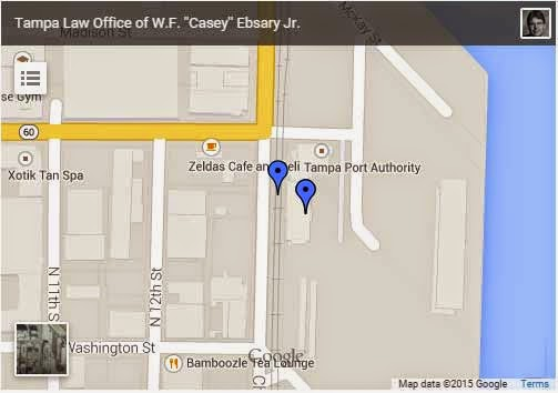 Casey Ebsary Tampa DUI Attorney Defense Attorney Channelside Tampa FL