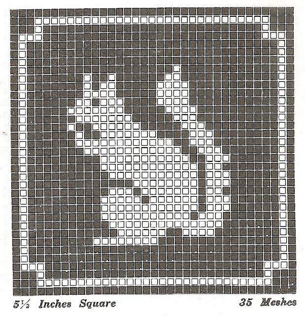 Free Filet Crochet Elephant Pattern : Sentimental Baby: Filet Crochet or Cross Stitch Animal Motifs