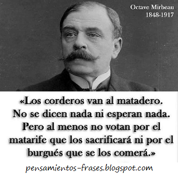 frases de Octave Mirbeau