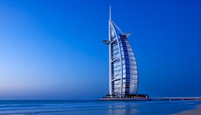 Burj Al Arab Towers Dubai-Seven Star Hotel in the world