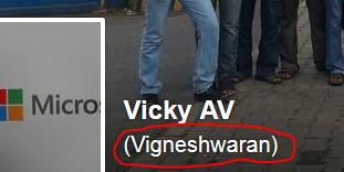 alternate name in facebook
