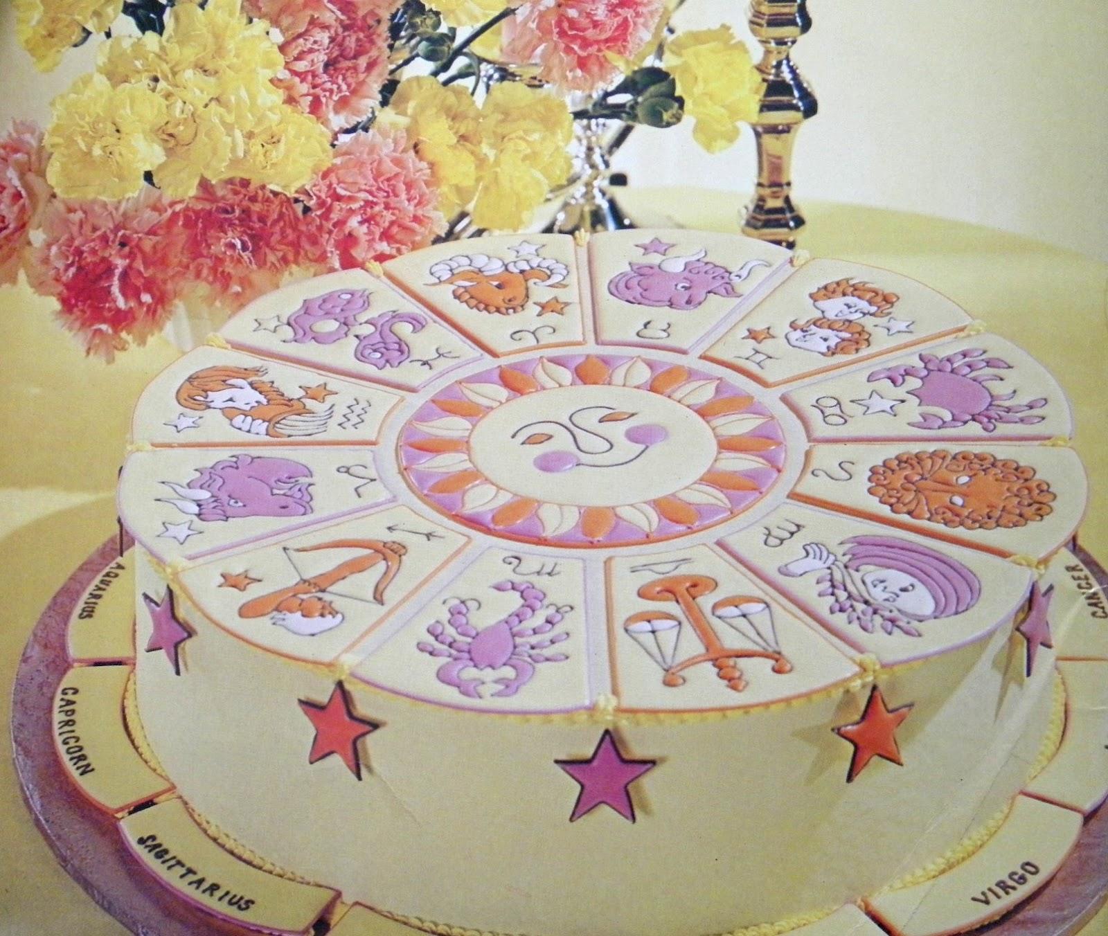Zodiac Cake