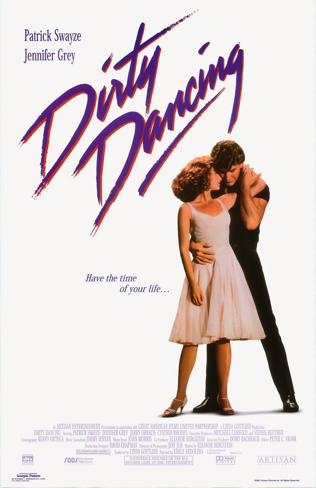 dirty dancing movie poster -#main