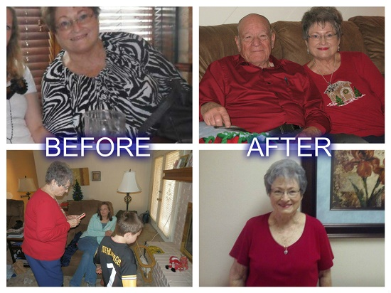 Check out Cathy's Skinny Fiber results. She lost 22 pounds in the challenge and 40 pounds total. Weight loss after 50 is realistic!