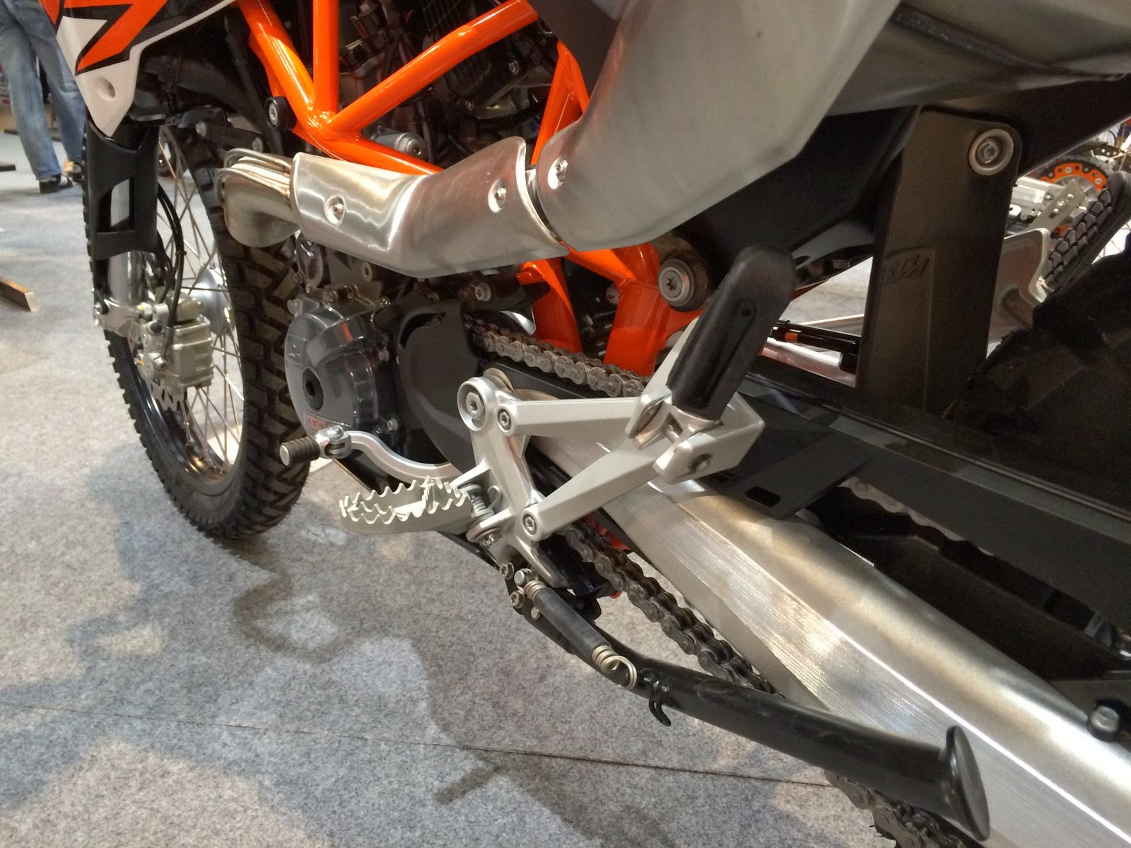 KTM 690 Enduro R 2014 detail