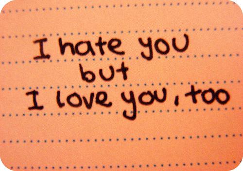 Cinta Tapi benci