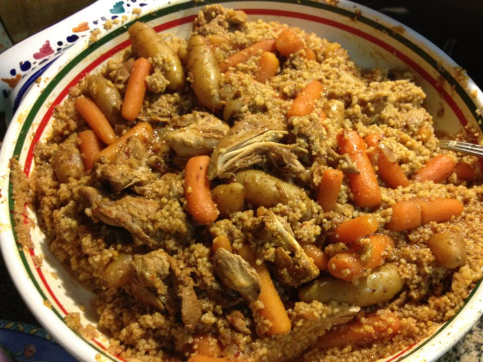 vegetable couscous 25 minute tunisian vegetable vegetable couscous ...