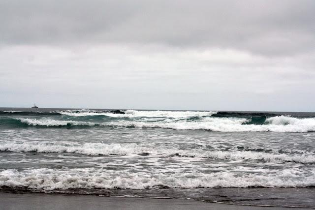 waves pacific ocean california coastal highway